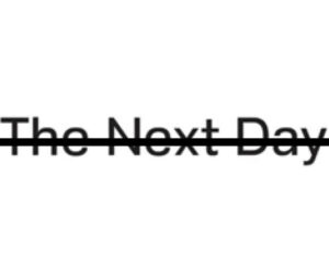 Xavier Cázares Cortéz, THE NEXT DAY (after The Next Day) From [AD-LIBBED] LINES. (series), 2020