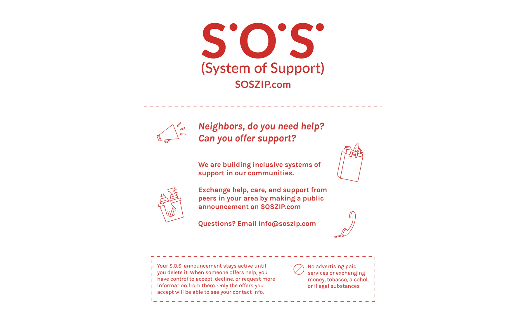 Jody Wood, S.O.S. (System of Support), 2020