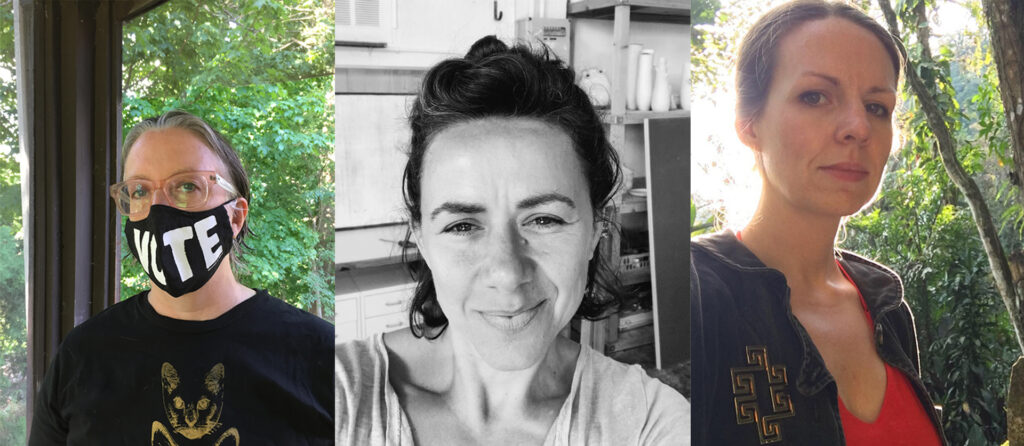 Invisibility(ies) Session One with artists Georgina Lewis, Laura Paul, and Cécile Ribas